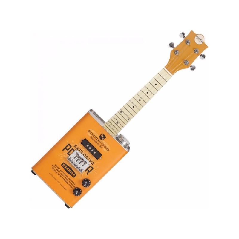 Bohemian Guitars Oil Can Ukulele TNT