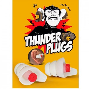 Fender Black Ear Plugs Hörselskydd