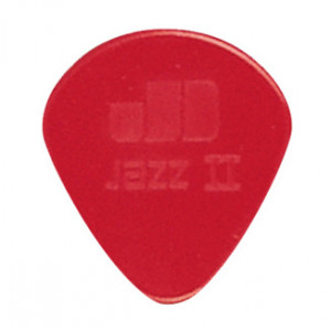 Plektrum Dunlop Jazz 2 röd