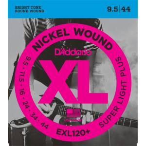 D'Addario XL120+ .0095-.044 El, Set