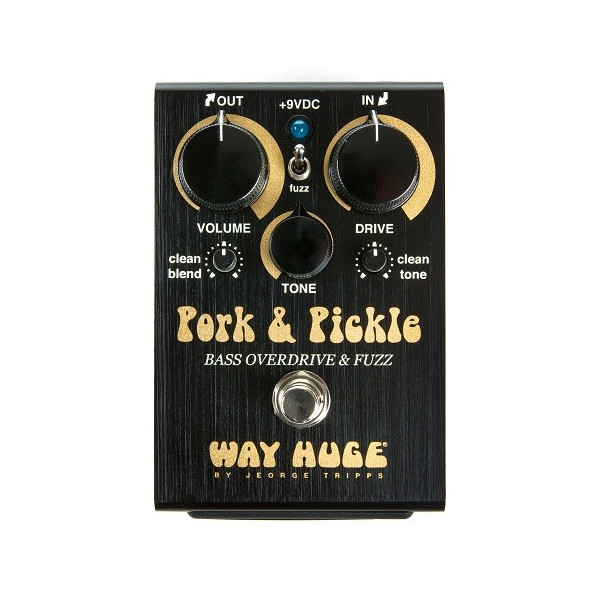 Way Huge WHE214 Pork & Pickle Bass Overdrive & Fuzz