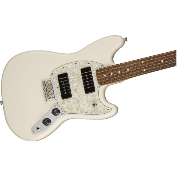 Fender Mustang 90 Olympic White