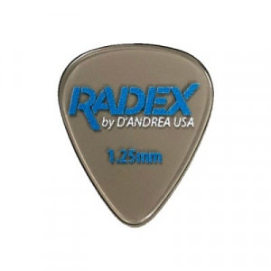 Plektrum D'Andrea Radex Smoke 351 0.75 , 1.00, 1.20 mm