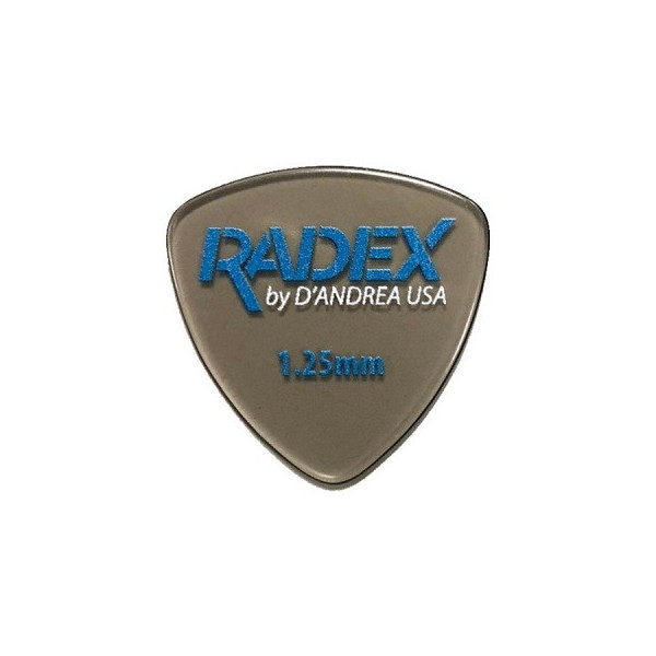 Plektrum D'Andrea Radex Smoke 346 0.75 , 1.00, 1.20 mm