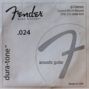 Elixir Phosphor Bronze Single Acoustic Guitar NANOWEB 053
