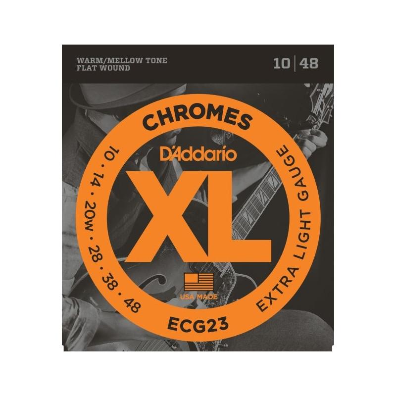 D'Addario Chromes CG23 .010-.048, set