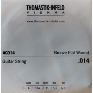 Dr. Tomastic Plektrum .014 Bronze Flat Wound