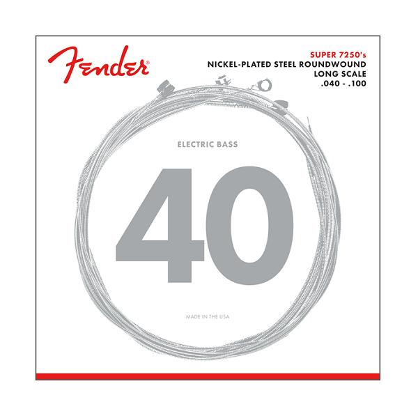 Fender 7250L Bassträngar 40-100
