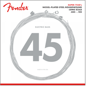 Fender 7250M Bassträngar 45-105