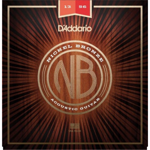 D'Addario NB Nickel Bronze Custom Light 013-056