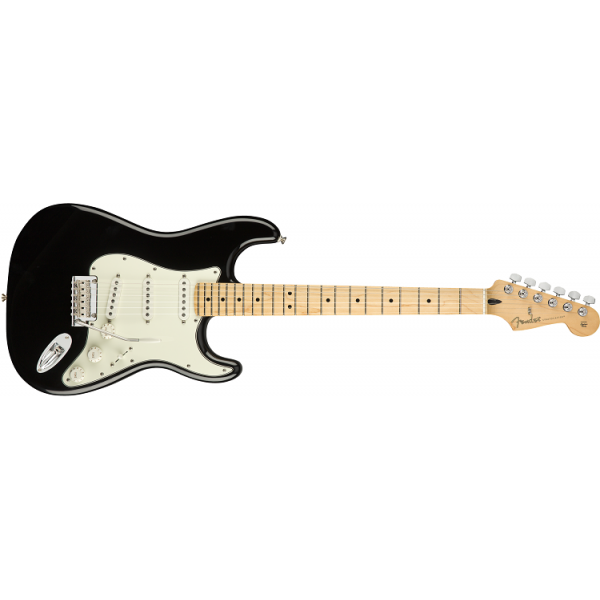 Fender Player Mexico Strata Maple Neck Black
