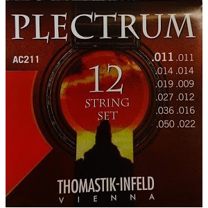Dr Thomastik Plectrum AC210 12 str set (10-41)
