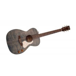 Art & Luthier Legacy Denim Blue Q-Discrete w microphone