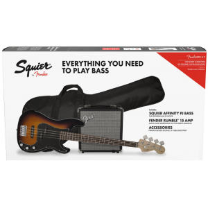 Squier Affinity Series Precision Bass PJ Pack Sunburst