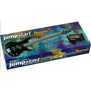 Ibanez Jumpstart GSR190 electric bass pak Black