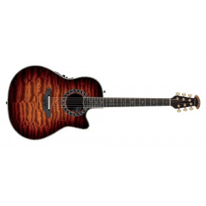 Ovation CE4412-5 12 string Black Celebrity Elite