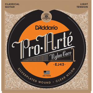 D'Addario Pro Arté© J45 Normal Tension, set