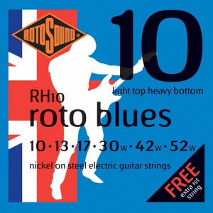 Rotosound RH10 Roto Blues Light Top/Heavy Bottom 10-52