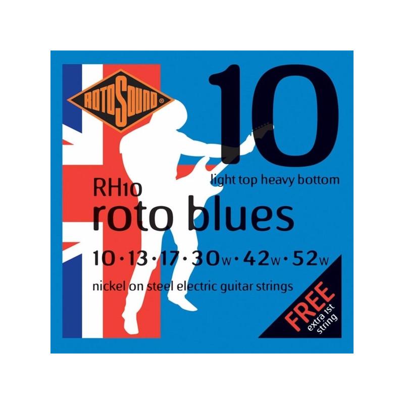 Rotosound RH10 Roto Blues Light Top/Heavy Bottom 10-52