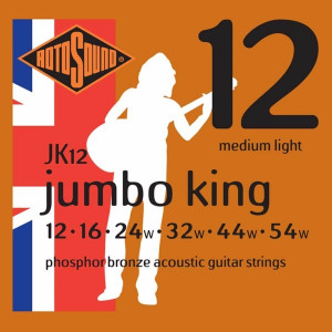 Rotosound JK12 Jumbo King Acoustic Med Light 12-54