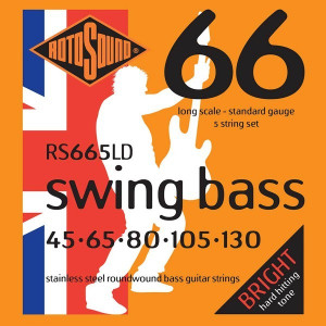 Rotosound RS665LD Swing Bass 5 str 45-130