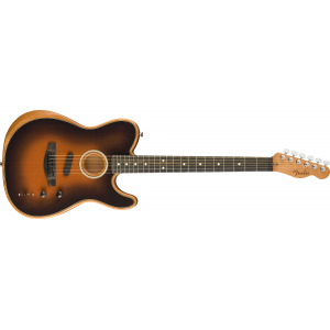 Fender American Acoustasonic Telecaster Sunburst w. gigbag