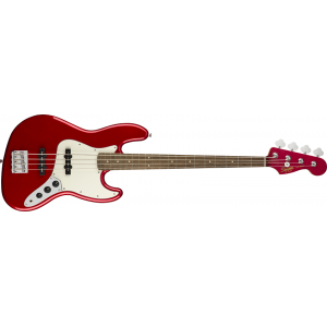 Squier Contemporary Jazz Bass Metallic Red