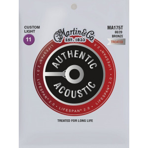 Martin Authentic MA175T  Lifespan 2.0 Custom Light 0.11-0.52 2.0