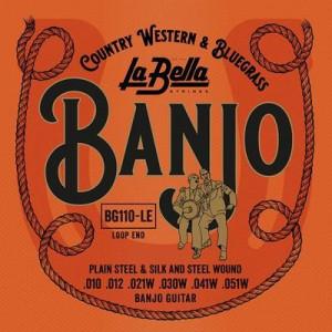 La Bella banjo 720M 4str