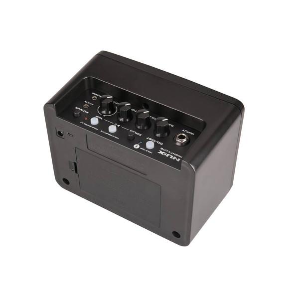 NUX Mighty Lite BT Desktop Bluetooth Guitar Amplifier Bundle with B-2 Black 2.4 GHz Digital Wireless Instrument System