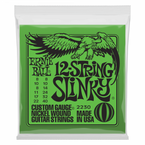 Ernie Ball 12-string Slinky...