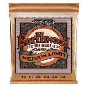 Ernie Ball Eartwood Medium...