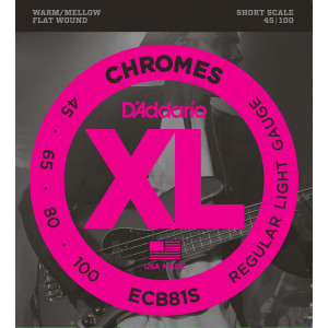 D'Addario Chromes ECB81S...