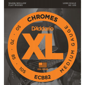 D'Addario Chromes ECB82