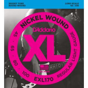 D'Addario EXL170 .45-.100 Set