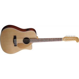 Fender Villager 12-strängad natur med mik