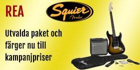 Squier kampanj gitarrpaket