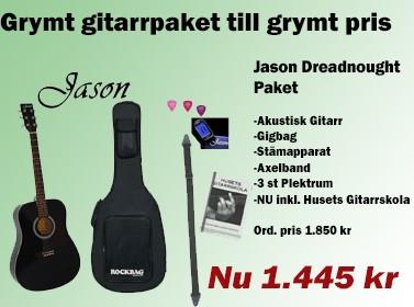 Jason Gitarrpaket till bra pris